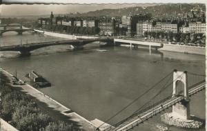 Lyon v. 1961 Pants sur le Rhöne (AK1867)