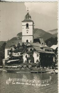 St. Wolfgang v. 1964 Weissen Rössl (AK1869)