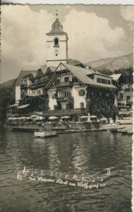 St. Wolfgang v. 1964 Weissen Rössl (AK1870)