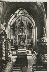 St. Wolfgang v. 1964 Wallfahrtskirche (AK1872)
