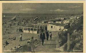 Zandvoort v. 1932 Strandgezicht (AK2010)