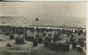 Zandvoort v. 1957 Aan het Strand (AK2015)