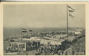 Zandvoort v. 1952 Strandgezicht (AK2020)