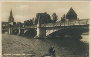 Konstanz v. 1934 Die Rheinbrücke (AK2068)