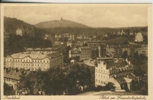 Karlsbad v. 1934 Blick zur Freundschaftshöhe (AK2075)