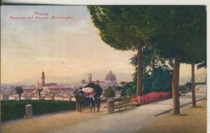 Firenze v. 1922 Paroma dal Piazzale Michelangelo (AK2080)