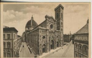 Firenze v. 1922 La Cathredrale e il Campanile (AK2081)