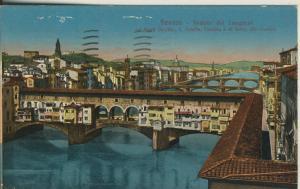 Firenze v. 1918 Veduta dei Lungarni (AK2082)