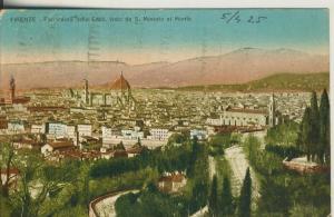 Firenze v. 1925 Teil-Stadt-Ansicht (AK2084)
