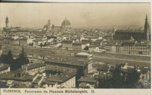 Firenze v. 1925 Panorama da Piazzale Michelangelo (AK2085)