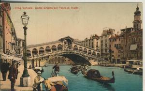 Venezia v. 1910 Canal Grande col Ponte di Rialto (AK2099)