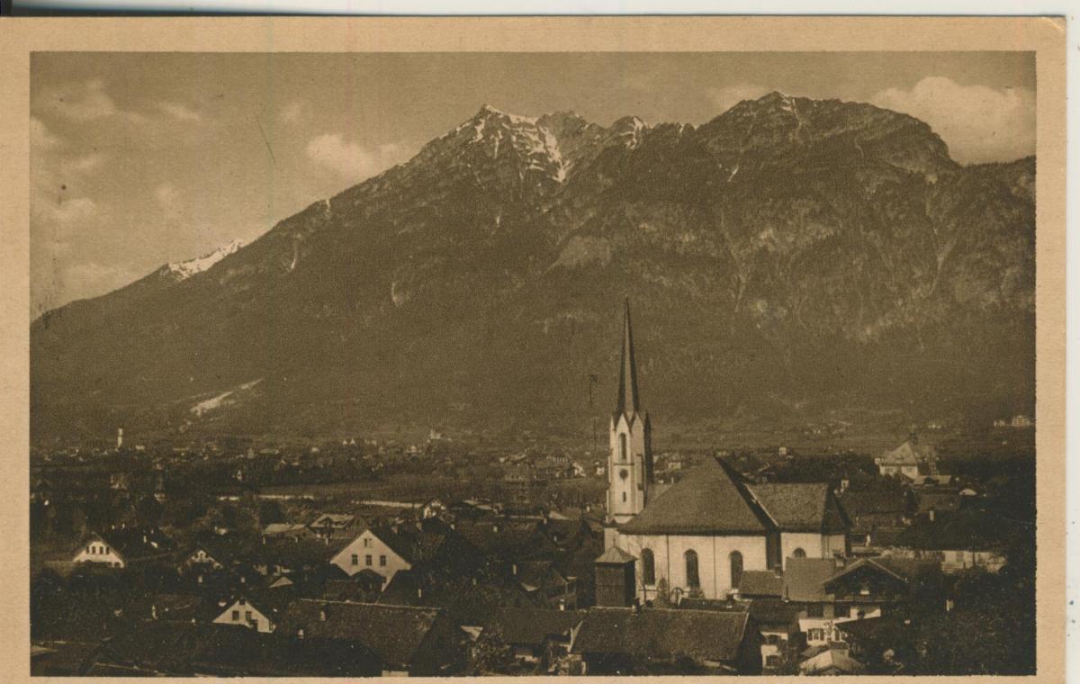 Partenkirchen und Garmisch v. 1928 (AK2168) 0