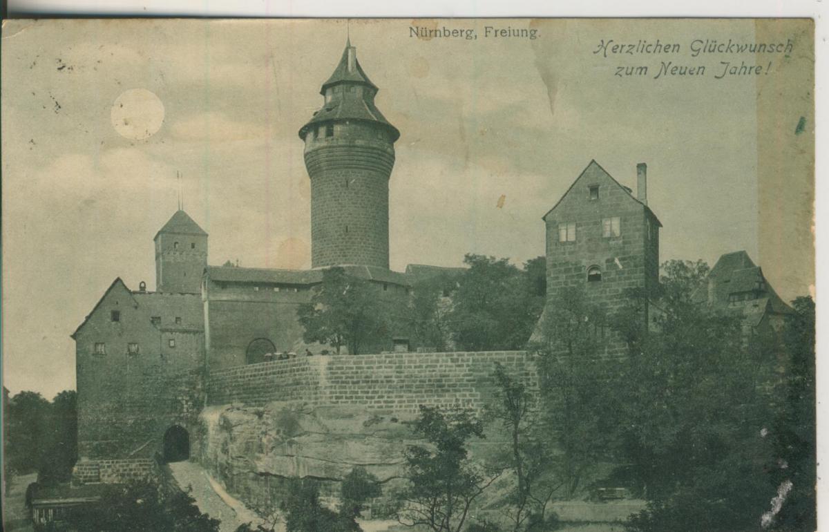 Nürnberg v. 1905 Freiburg (AK2181) 0
