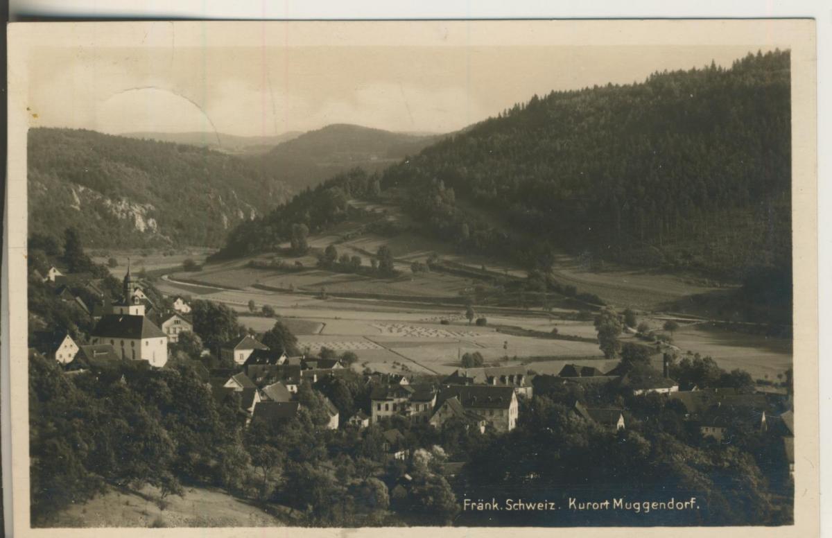 Muggendorf v. 1932 Dorfansicht (AK2189) 0