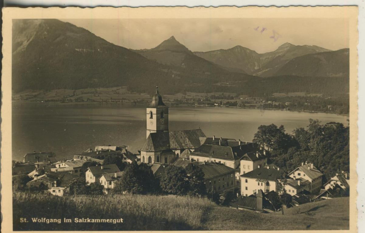 St. Wolfgng v. 1934 Dorfansicht (AK2196) 0