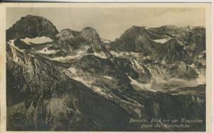 Bannalp-Blick von der Kreuzhütte gegen die Wallenstöcke v. 1940 (AK2211)