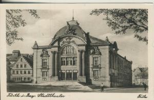 Fürth v. 1961 Das Stadttheater (AK2258)