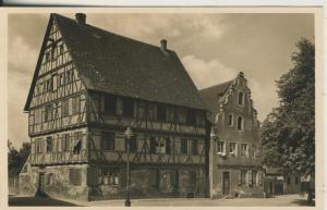Nördlingen v. 1950 Das Winter`sche Haus (AK2260)