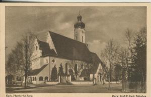Solln v. 1955 Kath. Pfarrkirche Solln,Entwurf Prof.F.Rank (AK2262)