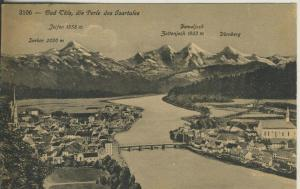 Bad Tölz v. 1921 Teil-Stadt-Ansicht (AK2263)