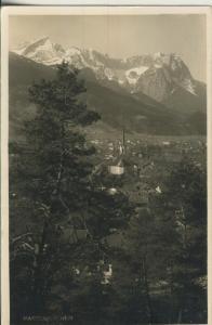 Partenkirchen v. 1936 Stadt-Ansicht (AK2266)