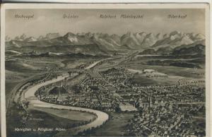 Kempten v. 1934 Total-Stadt-Ansicht (AK2269)