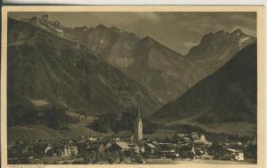Oberstdorf v. 1933 Teil-Stadt-Ansicht (AK2270)