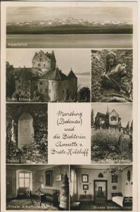 Meersburg v. 1958 Wohnung v. A.D.Hülshoff (AK2271)