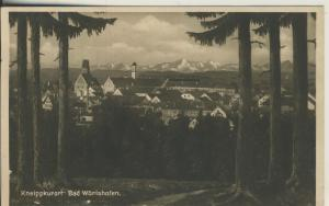 Bad Wörishöfen v. 1931 Teil-Stadt-Ansicht (AK2273)