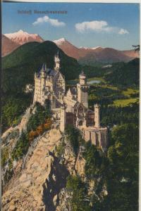 Hohenschwangau v. 1932 Schloß Neuschwanstein (AK2276)