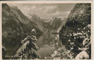 Königssee v. 1938 Winter am See (AK2279)