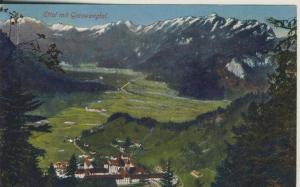 Ettal v. 1927 Das Kloster im Graswangtal (AK2281)