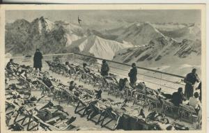 Zugspitze v. 1943 Schneefernerhaus-Terrasse (AK2288)