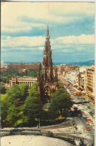 Edinburgh v. 1958 The Scott Monument (AK2424)