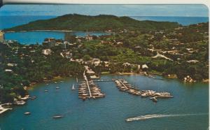 Acapulco v. 1965 Teil-Stadt-Ansicht (AK2582)