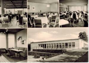 AK Heiligenstadt, Heilbad, Eichsfeld, Kulturhaus, 1985 gelaufen mit Marke