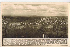 AK Stuttgart, Mühlhausen, Ansicht, Gasthaus zum Löwen, 1940 gelaufen mit Marke