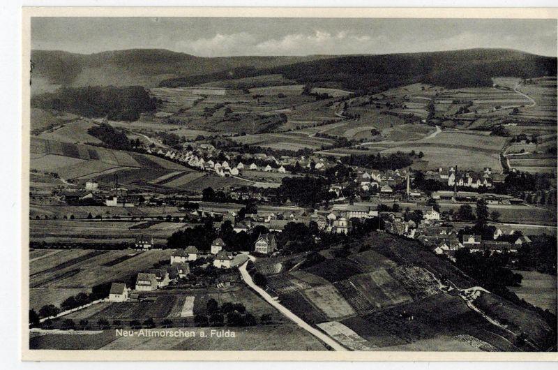 AK Morschen, Neumorschen, Altmorschen, Fulda, Ansicht, ca. 1930er Jahre ungelaufen