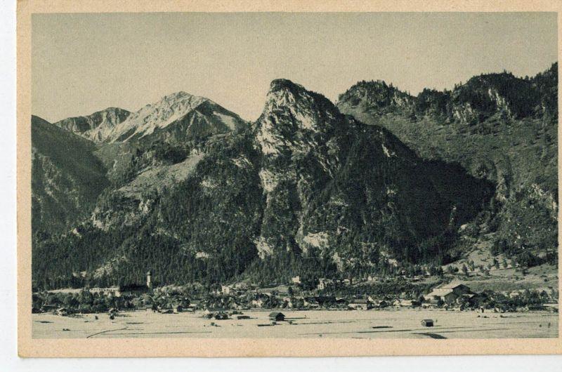 AK Oberammergau, Kofel, Not, ca. 1930er Jahre (?), ungelaufen