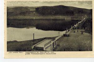 AK Osterode, Harz, Sösetalsperre, 1942 gelaufen ohne Marke, Feldpost