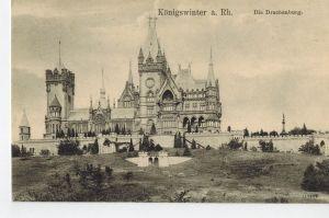 AK Königswinter, Rhein, Drachenburg, 1910-20er Jahre ungelaufen