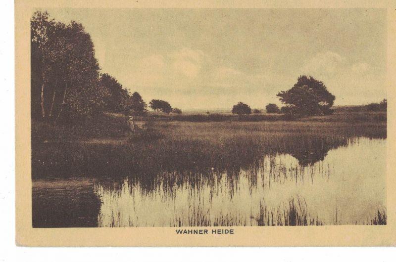 AK Köln, Wahn, Wahner Heide, Schießplatz, Naturschutzgebiet, 1918 gelaufen ohne Marke, Feldpost