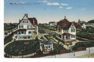 AK Pöhl, Jocketa, Villenkolonie, Vogtland, Vogtländische Schweiz, 1916 gelaufen, Feldpost, ohne Marke