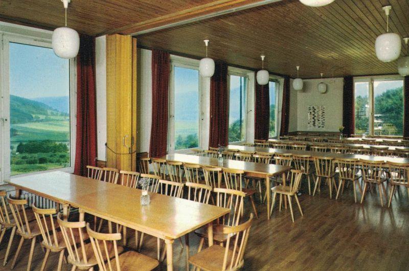 AK Veckernhagen, Jugendherberge, 1971 gelaufen mit Marke + Sonderstempel