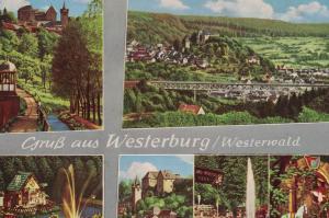 AK Westerburg, Westerwald, Ansichten, 1960 gelaufen mit Marke