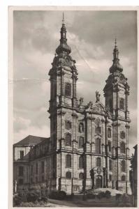 AK Bad Staffelstein, Vierzehnheiligen, Basilika, 1938 gelaufen mit Marke