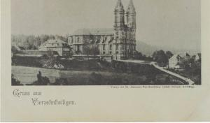 AK Bad Staffelstein, Vierzehnheiligen, Basilika, ungelaufen ca. 1900-1910er Jahre