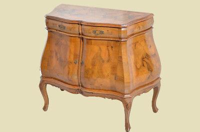 antik mahagoni intarsien barock kommode nr 192403197461 oldthing barockkommoden. Black Bedroom Furniture Sets. Home Design Ideas