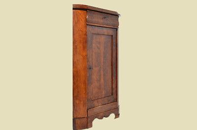 Antiker Biedermeier Schrank Kommode Vertiko Eckschrank von 1820 4