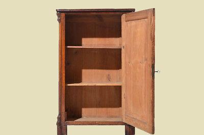 Antike Louis Philippe Mahagoni Schrank Vertiko Kommode von 1870 4